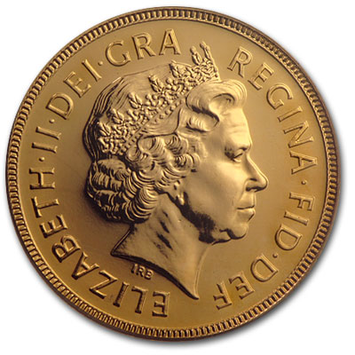 Great Britain 2001 Gold Sovereign MS-65 PCGS